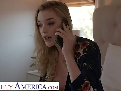 Naughty America Anny Crack of dawn fucks tyrannize to get nude pics round