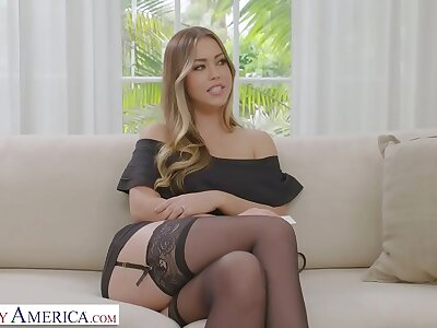 Naughty America - Your wife, Kassandra Kelly (Alina Lopez), fucks a immigrant coupled with you watch