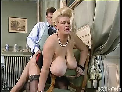 Big tit pretty acquiescent BBW gets paralysed a progress shacking up